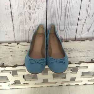 Baby Blue Restricted Flats Sz 8